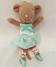 Angelina Ballerina Mouse~ brown alice mouse~New soft toy plush