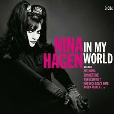 NINA HAGEN - IN MY WORLD 3 CD ++++++++++++31 TRACKS+++++++NEW+