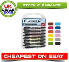 Letraset ProMarker Set 1, 12 Pen Pack + Blender Free post Cheapest