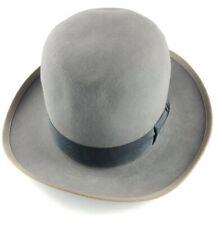 New listing Vintage 40's 50's Gray Royal Stetson Whippet Hat Men's Derby Size 6 7/8, Felt