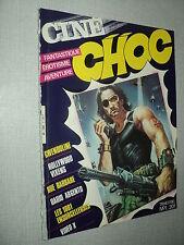 CINE CHOC 1 (3/84) DARIO ARGENTO JUST JAECKIN GIRAUDEAU EVA KLEBER KINSKI KALFON