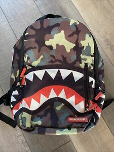 SPRAYGROUND Green Camo Back Pack
