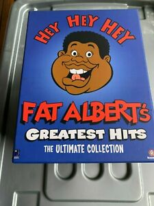 FAT ALBERT'S GREATEST HITS BOX SET, ULTIMATE COLLECTION, DVD'S, BEANIE, TSHIRT++