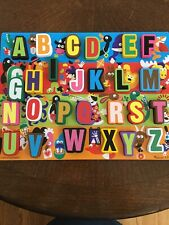 Melissa & Doug Wooden Jumbo Alphabet Jigsaw Puzzle