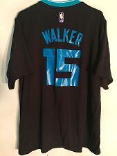 Adidas NBA Jersey Charlotte Hornets Kemba Walker Black Short Sleeve sz L