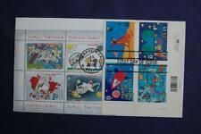 Stampin' the Future Child Designed Stamps FDC William S#3414-17 10971 Pl Block