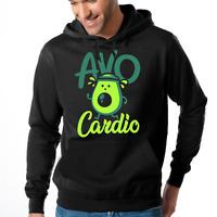 AVOCARDIO Avo Cardio Avocado Jogging Gym Sprüche Lustig Kapuzenpullover Hoodie