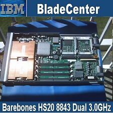 IBM BladeCentre HS20 8843 Blade Server, 2x Xeon 3.0GHz