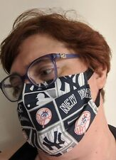 New York Yankees Face Mask - All Sizes   Handmade