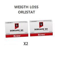 Orlistat Diecaps Weight Loss - fat reducer Orlistat 60mg 2 pack, 60 TABLETAS
