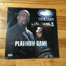 "CJ Mac ‎– ""Platinum Game"" 2xLP VG+ RARE! 90's hip hop"