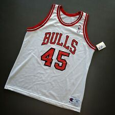 100% Authentic Michael Jordan Champion 94 95 Bulls #45 Jersey Size 48 L XL Mens
