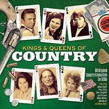 KINGS & QUEENS OF COUNTRY  3 CD NEUF