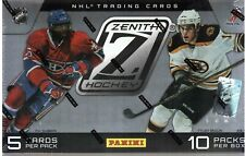 2010-11 PANINI ZENITH Hockey pasatiempo caja
