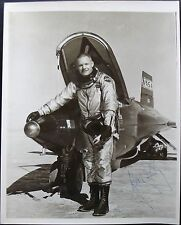 Neil Armstrong Rare Signed X-15 Photograph Apollo 11 1st Moonwalker Authentic