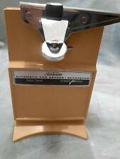 Vintage 70's Sunbeam Total Clean Power Pierce Can Opener Knife Sharpener Gold