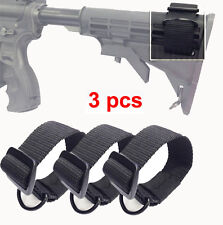 3PC Butt Stock Sling Adapter Universal Fit for Shotgun Rifle Attachment Mount