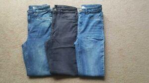 Ladies H&M JEANS NEW Womens Denim Trousers Skinny Leg UK 6-18 REG free p&p