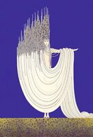The Sea : Erte : Art Deco  : Archival Quality Art Print Suitable for Framing