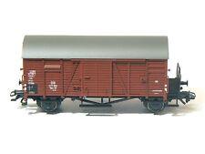 Märklin H0 aus 29721, gedeckter Güterwagen Gms 30 Oppeln, DB, braun, neu