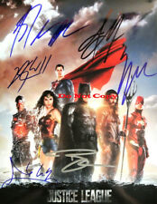Justice League autographed 8x10 photo RP