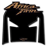 ADESIVO gel 3D compatibile per serbatoio MOTO HONDA AFRICA TWIN 2018 black ORO