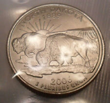 2006 D North Dakota Quarter  *MINT CELLO*  **FREE SHIPPING**