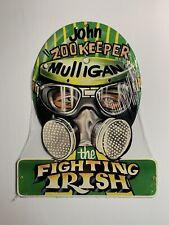 "NHRA John ""Zookeeper"" Mulligan Drag Racing Helmet Metal Sign *Sealed*"