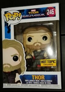 Marvel Funko Pop Hot Topic Exclusive #246 Thor Ragnarok Thor and Surtur Skull!