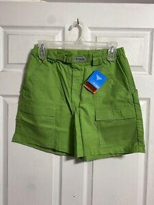 Columbia PFG Green Half Moon II Shorts With UV Sun Protection UPF 15 Mens M NWT