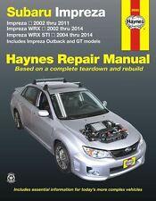 Subaru Impreza, Impreza WRX & Impreza WRX STI (2002-2014) Chilton Manual 89080