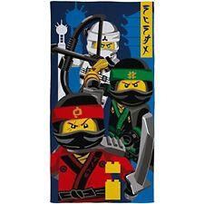 Lego Ninjago Película Ninja Niños toalla multicolor