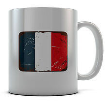 French France Flag Mug Cup Present Gift Coffee Birthday