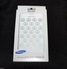 Original Samsung Moschino Case Galaxy Note 3, weiß/silber, Tasche, Hülle, Etui