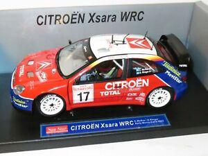 1/18 Citroen Xsara WRC Total  Monte Carlo Rally 2003 Colin McRae / Derek Ringer