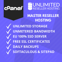 Unlimited Master Reseller Hosting, cPanel & WHM, Free SSL, Domains, Bandwidth