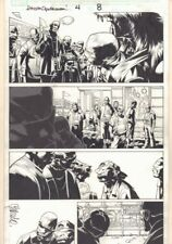 Dark Reign: Sinister Spider-Man #4 p.8 - Gangs 2009 Signed art by Chris Bachalo