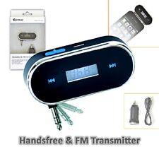Handsfree & FM Transmitter FM Radio Transmitter, Play your music and enjoy it v