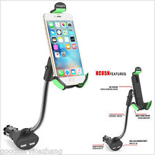Dual USB 360° CAR Adjustable Charger Car Mount Holder For GPS/Smart Cell Phones