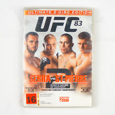 Ufc 83 | Serra vs Pierre 2 | 2 Disc Set