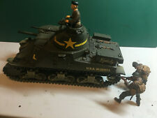 Forces of Valor U.S. M3 Lee Tunisia 1942 + 3 Figuren 1:32