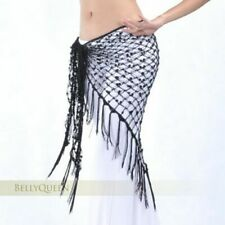 Belly Dance Costumes Sequins Belly Dance Hip Scarf Womens Acetate Dancing Belts