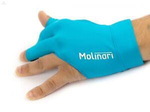 Billard Handschuh Molinari™ - Cyan