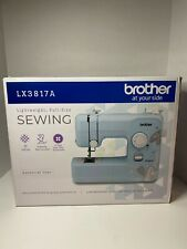Brother LX3817A Sewing Machine - Aqua- 17-Stitch Full-size *NEW* *FREE SHIPPING*