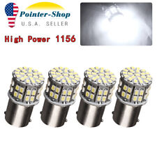 4X 1156 BA15S 50 SMD 3014 LED Replacement Bulbs for Car Interior RV Camper light