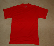 """BRAND NEW Hanes """"Top T"""" men's t-shirt - size S - available in Red"""