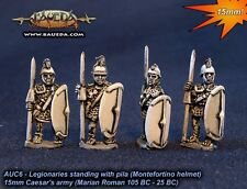 Baueda - Legionaries standing with pila (8 foot) - 15mm
