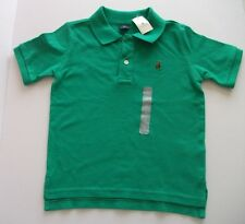 BABY GAP Boys Green Polo Top Age 4 Years NEW WITH TAGS