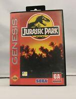 Complete Jurassic Park Original Sega Genesis Game