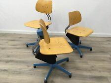 1/8 sedia sedia girevole architetto Bambini Vintage Loft Design Fabbrica officina scuola